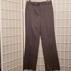 NYDJ GREY/BLACK HERRINGBONE PANTS Sz 10